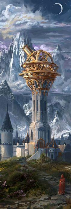 Steampunk Fantasy Art Cities 26+ Ideas #art