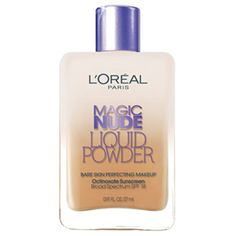 Once I run out of the stuff I'm currently using... Magic Nude Liquid Powder Bare Skin Perfecting Makeup SPF 18 Sun Beige 328