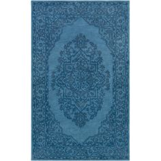 Found it at Wayfair - Middleton Cameron Hand-Tufted Turquoise Area Rug