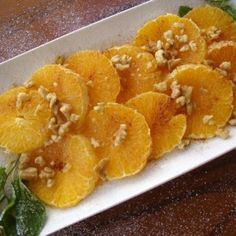 Moroccan Spiced Oranges