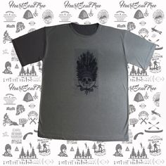 ADVENTURE COMANCHE Camiseta Masculina.
