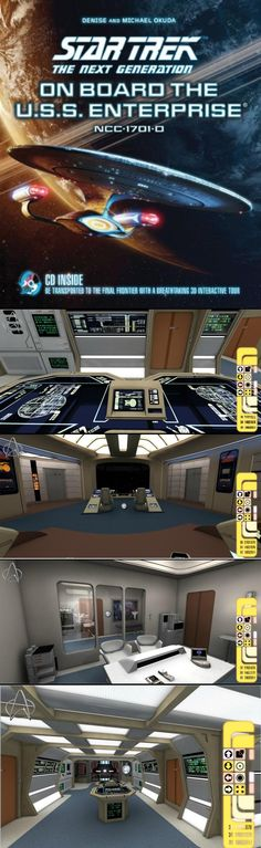 On Board the Enterprise: A Primer for Your Tween