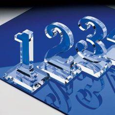 JLS-118 3D Laser Cut Acrylic Letter