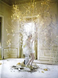 Tim Walker - the ultimate fairytale fantasy photographer!