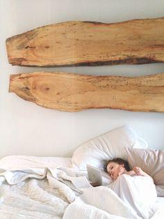 Wild & Precious: DIY bed boards / headboard idea