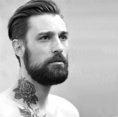 """I don't mind beards- just don't go crazy and end up looking like Tom Hanks in """"Cast Away"""" :p"""