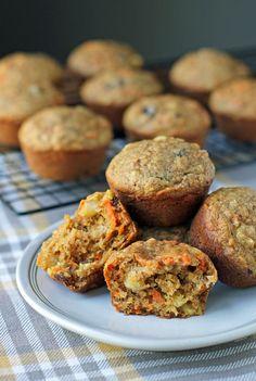 Raisin Muffins, Apple Cinnamon Muffins, Strawberry Rhubarb Muffins, Blue Berry Muffins, Tater Tot Breakfast, Breakfast Items, Breakfast Dishes, Morning Glory Muffins, Recipe Builder