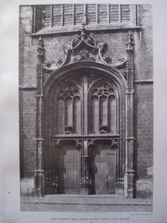 South Transept Door, Church of St. Martin , Alost, Belgium, EUR, 1892, Unknown