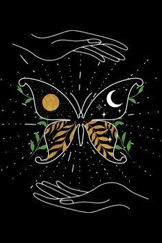 Night butterfly 🦋