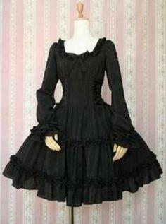 Goth lolita dress by angelssecret, $49,99