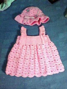 ropa de bebe en crochet | ropa de hilo o lana para bebe