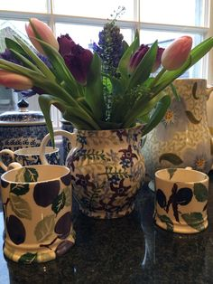Emma Bridgewater jug exclusive to Waitrose Flowers, for Mother's Day 2015