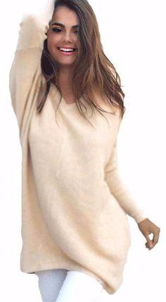 2017 New Oversize Knitted V-Neck Long Sleeve Casual Loose Pullover Sweaters,  $15.95  ,https://www.romexnewyork.com/products/2017-new-oversize-knitted-v-neck-long-sleeve-casual-loose-pullover-sweaters?utm_campaign=outfy_sm_1507690956_216&utm_medium=socialmedia_post&utm_source=pinterest  https://www.romexnewyork.com
