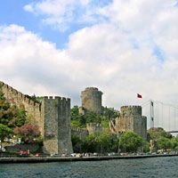 Rumeli Fortress: Built by Mehmet the Conqueror in 1452 prior to the conquest of Istanbul was completed in only four months to control and protect the infamous Bosphorus passage. It is one of the most beautiful works of military architecture anywhere in the world.