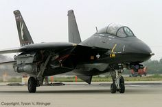 "VX-9 ""Vandy One"" - F-14A Black Bunny"