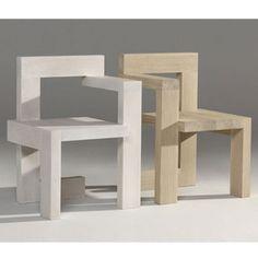 Pair of Rietveld Steltamn chairs