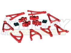 Best Quadcopters at Sceek.com Integy Stage 1 Conversion Set, Red: 1/16 ERV INTT3485R