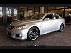 2011 Lexus IS-F Start Up, Exhaust, and In Depth Tour.