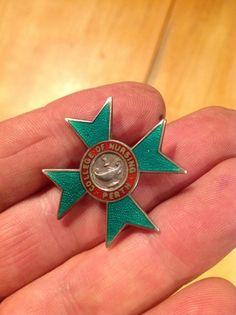 Nurse+s+Badge+Perth+College+Nursing+silver