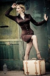 #Vintage #Pinup #Vacation #Travel - @ginger_michele Actress, model, host, philanthropist. http://www.gingermichele.com  Hollywood, California