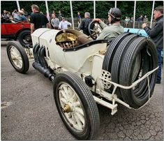 1908 Mercedes Grand Prix car
