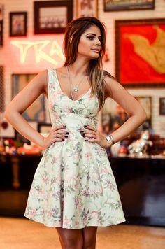 modelagem do vestido