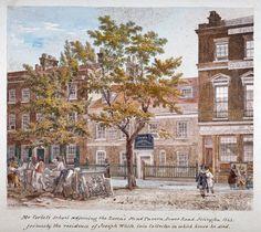 Essex Road, Islington, London Fine Art Print by Robert Blemmell Schnebbelie