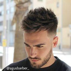 menshairstyletrends: Haircut by @agusbarber_ on Instagram http://ift.tt/1VZVKPz Find more cool hairstyles for men at http://ift.tt/1eGwslj and http://ift.tt/1LLP91m ES AGP: Agus Barber Calle Ntra. Sra. de las Candelas, 12Malaga, 29004 Spainhttp://www.agusbarber.com/656 89 99 14