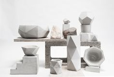 14 designers including will join Design Milk in the Milk Stand popup shop booth May See you there! by designmilk Concrete Interiors, Concrete Furniture, Concrete Projects, Furniture Design, Concrete Casting, Art Connection, Concrete Planters, Diy Concrete, Furniture Packages