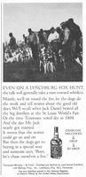 Jack Daniel's Lynchburg Fox Hunt 1966 Ad Picture