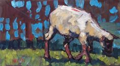 Marked and Tagged, painting by artist Rick Nilson