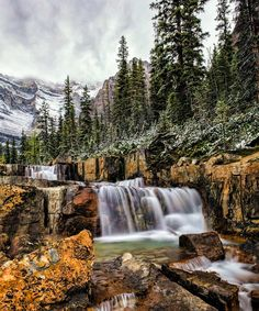 ***The Giant Steps (near Lake Louise, Banff, Alberta) by Kristin Repsher on 500px