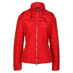 Armani Jeans Metallic Trim Padded Jacket