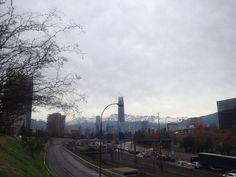 Santiago de Chile, my city. June 14, 2012
