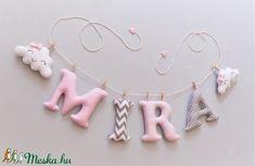 MIRA rózsaszín-szürke felfüggeszthető név mosolygó felhőkkel - fali dekor, ajtódísz (Levendulamano) - Meska.hu Drop Earrings, Jewelry, Jewlery, Bijoux, Schmuck, Drop Earring, Jewerly, Jewels, Jewelery