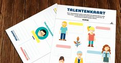 PRINTABLE - De Talentenkaart geeft in 1 beeld de talenten binnen je team weer. Je ziet meteen bij wie je waarvoor terechtkan. Je school/team en jijzelf worden sterker.