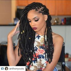 10 Of The Hottest Faux Locs Styles We Have Seen This Year - Black Hair Information