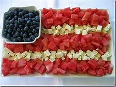 Image result for red white and blue snacks
