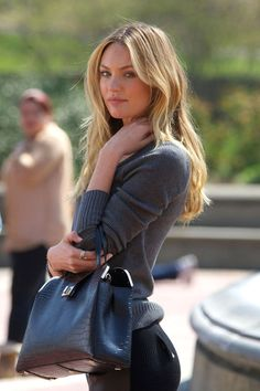 #Candice Swanepoel -- Fall Street Style.   #MyNewFallEdit