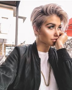 Short Edgy Pixie Cuts and Hairstyles Short Edgy Pixie Cuts and Hairstyles;Trendy hairstyles and colors Short Short Edgy Pixie Cuts and Hairstyles;Trendy hairstyles and colors Short hairstyles; Modern Short Hairstyles, Edgy Haircuts, Short Hairstyles For Thick Hair, Short Pixie Haircuts, Curly Hair Styles, Hairstyles Pictures, Cut Hairstyles, Hairstyle Short, Fashion Hairstyles