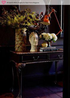 La casa de Abigail Ahern. ¿Quién dijo miedo al color negro?         |          Etxekodeco