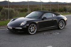 Практически готовый 2013 Porsche 911 Targa