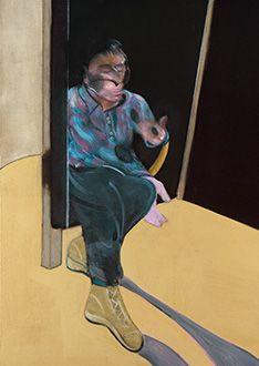 Francis Bacon, Study for Self-Portrait, 1981