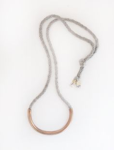 An everyday necklace The LUNATE NECKLACE by Erin Considine