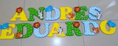 Baby Shower, Lettering, Diy, Garden Gates, Alphabet, Painted Wood Letters, Mdf Wood, Baby Things, Notebooks