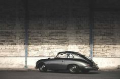 1957 Porsche 356 by Mathieu Bonnevie Photography. More cars here. Porsche 356 Outlaw, Porsche 356a, Vintage Porsche, Vintage Cars, Retro Cars, Classic Sports Cars, Classic Cars, My Dream Car, Dream Cars