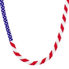 America the Beautiful Necklace | Fusion Beads Inspiration Gallery What.a.cool.necklace.
