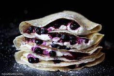 Food T, Yummy Food, Poppy, Pancakes, Lemon, Ethnic Recipes, Blog, Delicious Food, Pancake