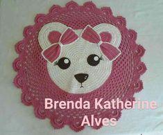 Unicorn Love Afghan Crochet pattern by Kim & Bob L Crochet Bear, Crochet Home, Crochet Crafts, Sewing Crafts, Animal Rug, Knit Rug, Crochet Rug Patterns, Crochet Carpet, Crochet Round