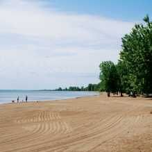 Turkey Beach& safe, sandy beach stretches over two kilometres and is a great choice for young children. Lake Beach, Beach Town, Beaches In Ontario, Travel Nursing Agencies, Ontario Parks, Norfolk County, Ontario Travel, Best Campgrounds, Camping World